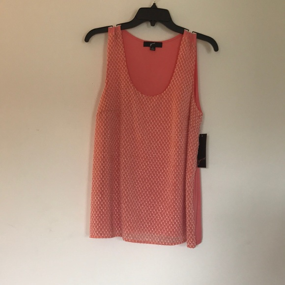 Tops - Coral colored top